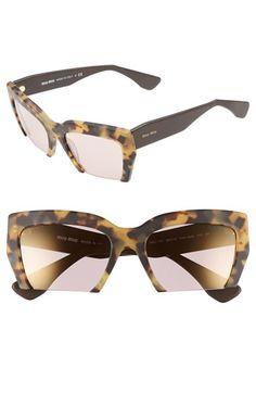 a2083918c78 Free shipping and returns on Miu Miu  Rasoir  56mm Sunglasses at  Nordstrom.com