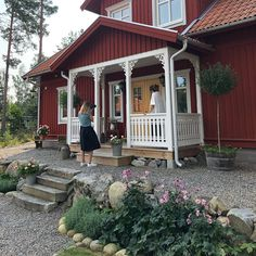Swedish Decor, Swedish House, Home Studio, Country Style, Gazebo, Sweet Home, New Homes, Cottage, Outdoor Structures