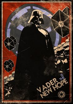 Join the dark side of the force! Vader is the hope...