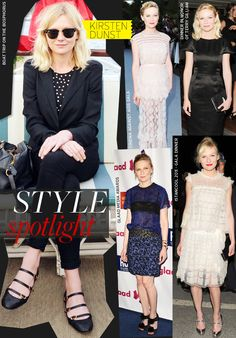 Kirsten Dunst - probably my longest running style icon.  She just always kills it!