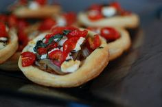 Goat Cheese and Tomato Tarts | Beantown Baker