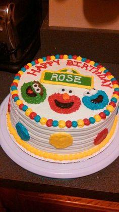 Sesame Street Cake Pinteres