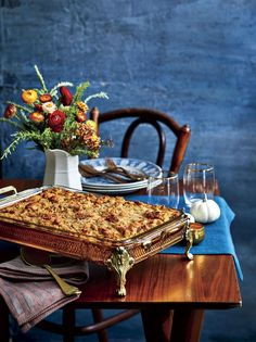 Travel editor Valerie Luesse shares her Aunt Grace's Best Cornbread Dressing recipe.