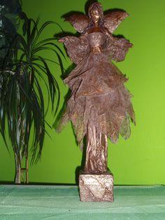 PAVERPOL ANGEL 1, ANJEL, ANDĚL, АНГЕЛ Materiál: bronzový paverpol, výška 45cm