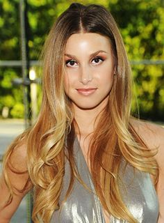 Long, soft & Ombre--Whitney Port- @kylie Johnson I also like this one-more orangish!
