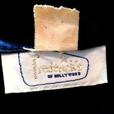 Frederick's of Hollywood, 1950s slipper satin dressing gown. Dorothea's Closet Vintage archives