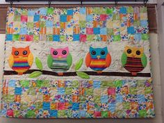 Whoo's Your Baby Quilt - I'm gonna learn how to make this :)