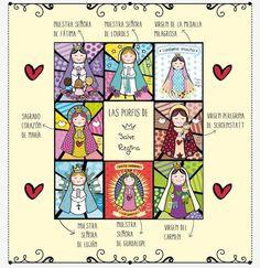 Las Virgencitas Porfis de Salve Regina | Imagenes y Frases para ...