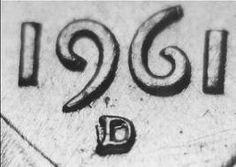 1961 - Denver Mint - Denver, CO