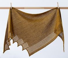 Bella Shawl by Annie Baker Designs
