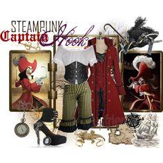 """Steampunk: Captain Hook"" by ghsdrummajor on Polyvore"