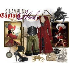 """Steampunk: Captain Hook"" by ghsdrummajor on Polyvore"