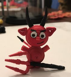 Quilling Craft, Paper Quilling, 3d Paper, Disney Characters, Fictional Characters, Halloween, Crafts, Art, Toys