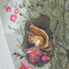 L'image de : l'écureuil