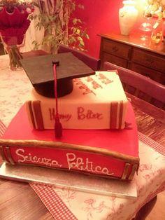 Book Cake, Graduation