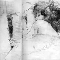 "scrappadoir: ""Jeffrey Jones - prelim' sketch for carol "" J Jones, Michael Williams, Wet Felting, Life Drawing, Fabric Art, Art Techniques, Textile Art, Fantasy Art, Illustration Art"
