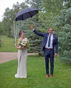 Lizzy And Pat's Fun Utah Nuptials - A Little Fall of Rain