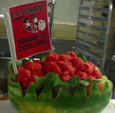 Deliciously FUN watermelon carvings from Dallas ISD