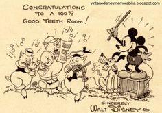 Disney/American Dental Association campaign certificate