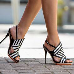 What's Hot. Gwen Stefani's Abbot Sandal Heels