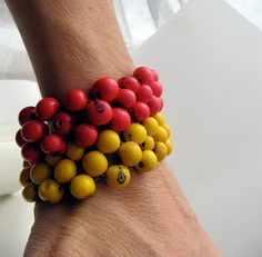 big statement bracelet mexican style