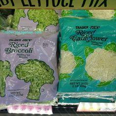Trader Joe's Riced Broccoli  15oz  $2.29 トレーダージョーズ ブロッコリーライス #traderjoes #riced #broccoli