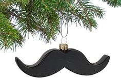 The Twitchy Mustache Ornaments Make Adorable Snowman Faces #movember trendhunter.com