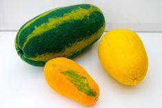 Deko-Obst - Wassermelone gefilzt für die Küche, den Hofladen  - ein Designerstück von Mafiz bei DaWanda