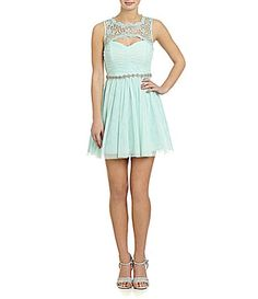 a5bbd53931a Sequin Hearts LaceYoke Party Dress  Dillards Daddy Daughter Dance Dresses