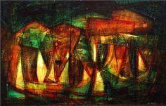 Alfredo Sinclair - Bahía - Arte Panamá - Informacion de la Obra