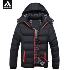 Men's Warm Jacket Hoody -15-20 Winter Coats Male Hooded Plus Size XXXL 4XL Jackets Teenager Slim Fit Windbreaker Down Parka #>=#>=#>=#>=#> Click on the pin to check out discount price, color, size, shipping, etc. Save and like it!