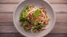 Slow Cooked Spiced Duck Salad