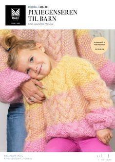 Pixiegenseren Til Barn - Køb billigt her Jumpers, Knitting Projects, Pixie, Diy And Crafts, Vogue, Pullover, Shopping, Fashion, Knit Patterns
