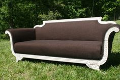 Reupholstered Duncan Phyfe Sofa by plagiarizedbybradley on Etsy, $799.00