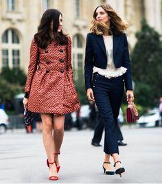 Ele & Candela being awesome. I think in Milan. #EleonoraCarisi #CandelaNovembre