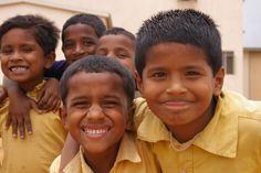Christel House India Students having fun!