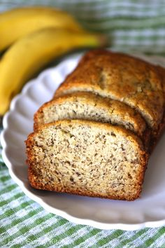 banana bread slices