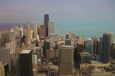 Chicago from J.P. Morgan's building