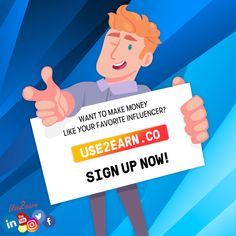 Get paid to use social media! Earn money by referring friends and family and completing easy tasks. Join the Influencer Earning Network today! Make Easy Money, Way To Make Money, How To Make, Earn Free Money, Earn Money Online, Online Earning, Money From Home, Make It Simple, Social Media