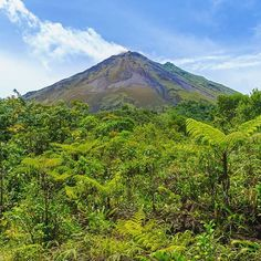 Arenal Volcano Costa Rica  Finally the rain agreed tohellip