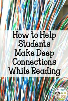 Making connections is a key reading strategy that can often be misused or overlooked. When used effectively it can be a great resource to help students understand their reading.
