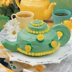 Tea Party Cake - for beginners!