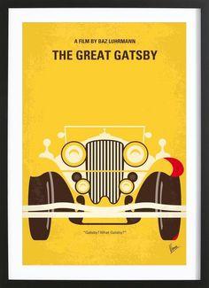 The Great Gatsby - Chungkong - Gerahmtes Poster