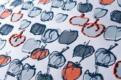 Embroidered Wallpaper  Jen Moules Textile Design