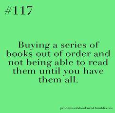 problems of a book nerd