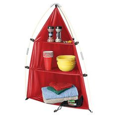 This would be great for organizing our campsite... could set it up in the FIT.