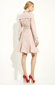 Valentino Water Resistant Faille Trench