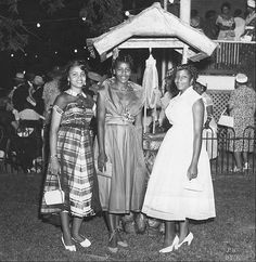 CultureSOUL: Society ladies, 1950s  African American women of the 1950s.