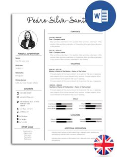 modelo exemplo de curriculum curriculo If you like this cv template. Check others on my CV template board :) Thanks for sharing! Cv Models, Resume Models, Modelo Curriculum, Cv Curriculum, Cv Design, Resume Design, Cv Template, Resume Templates, Cv Web