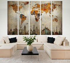 World Map №713